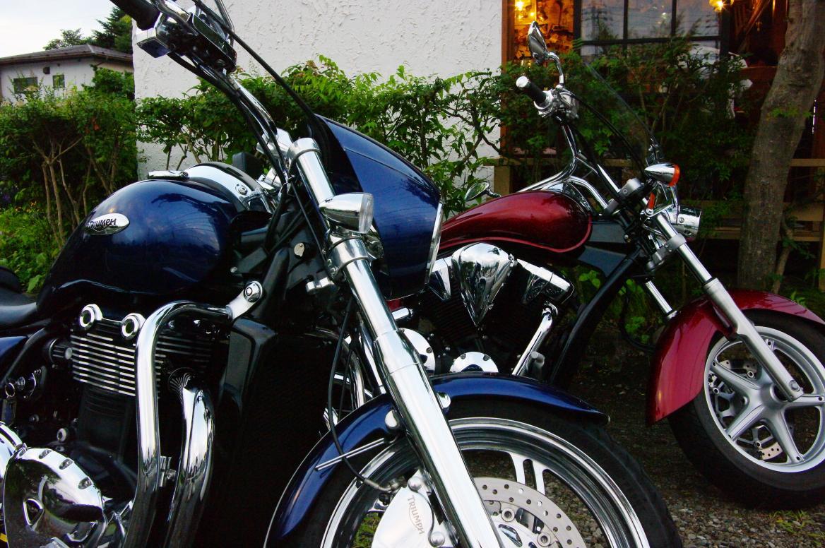 ペンションオーナーの趣味:バイク・ツーリング